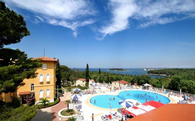 Отель Apartments Bellevue Plava Laguna