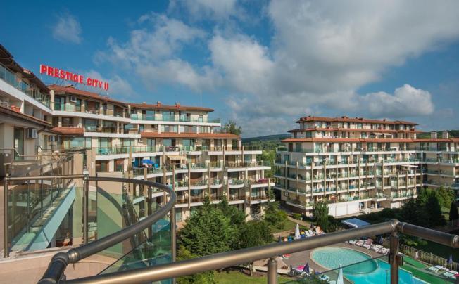 Отель Prestige City Ii Aparthotel Primorsko