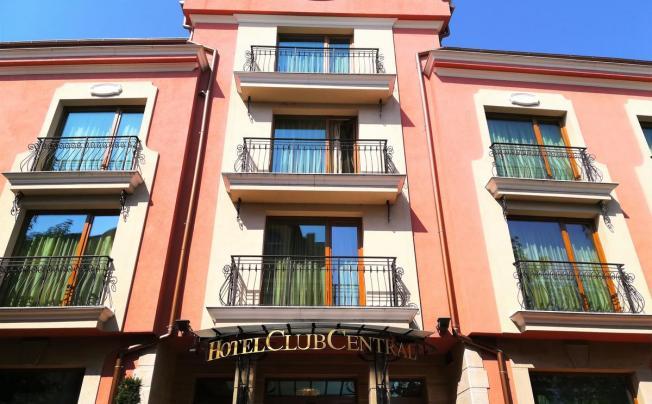 Отель Spa Club Central Apartment