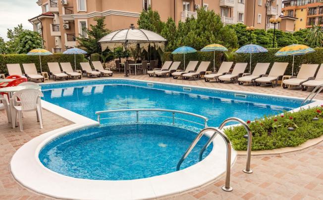 Отель Venera Family Hotel Sveti Vlas