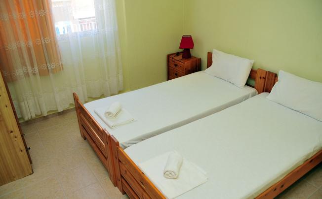 Отель Akti Apartments Dionisiou Beach
