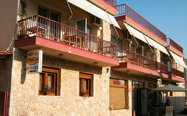 Отель Thalia Apartments