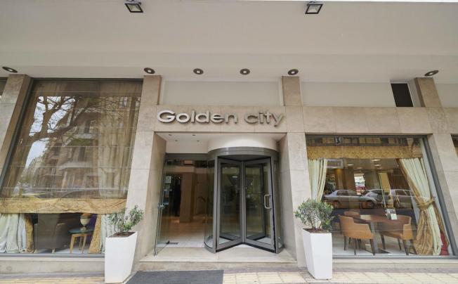 Отель Athens Golden City Hotel