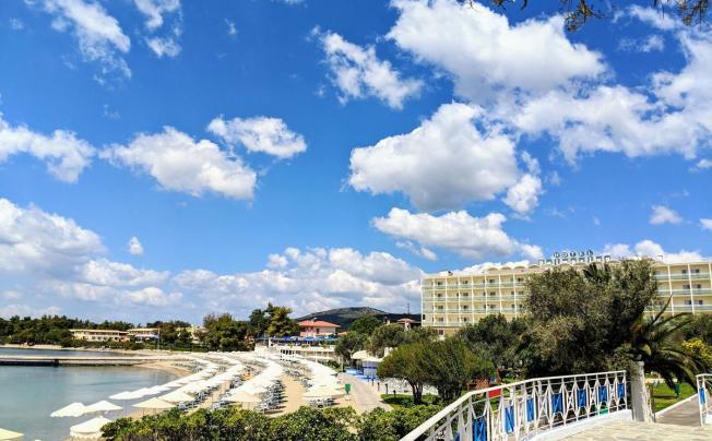 Отель Bomo Palmariva Beach (ex. Coralia Club Palmariva Eretria)