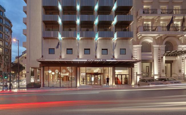 Отель Njv Athens Plaza
