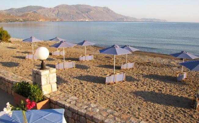 Отель Galini Beach Hotel