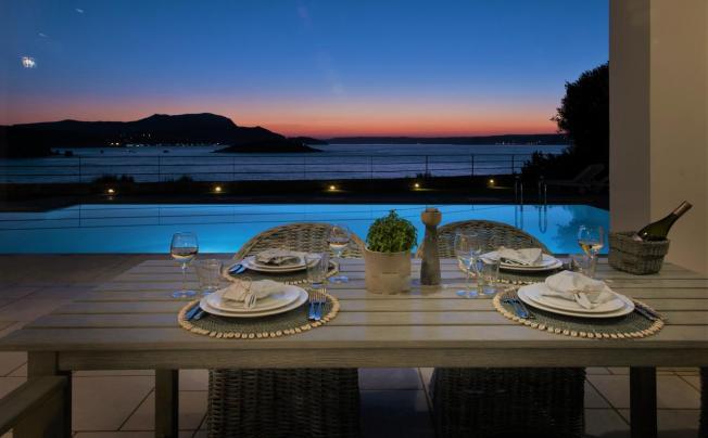 Отель Sk Place Crete Luxury Seafront Villas