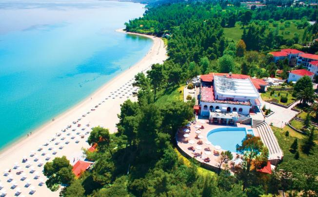Отель Alexander The Great Beach Hotel