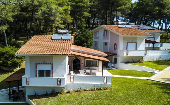 Отель Ekatis Houses