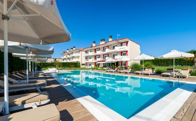 Отель Lagaria Hotel Afitos (hotel Lagaria Palace)
