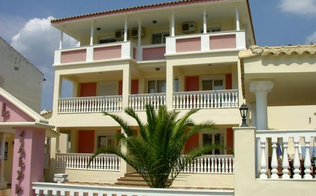 Отель Calypso Hotel Siviri