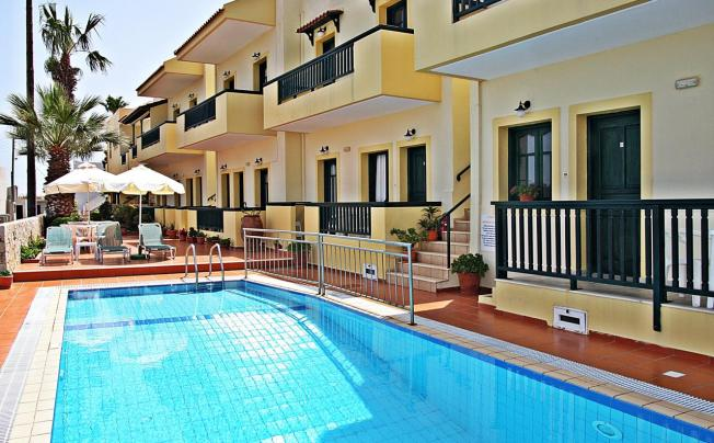 Отель Aspri Petra Hotel Apartments