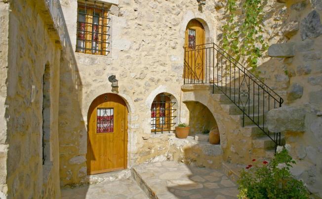 Отель Vafes Traditional Stone Houses