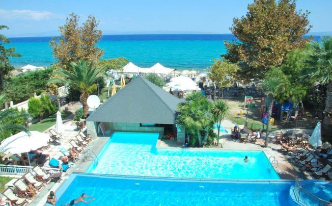 Отель Naias Beach Hotel & Apartments