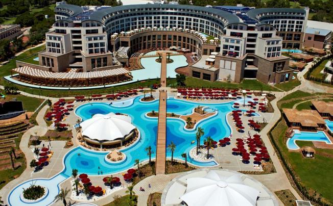 Отель Kaya Palazzo Golf Resort Belek (ex. Riu Kaya Palazzo)