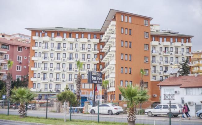 Отель Sun Fire Beach Hotel