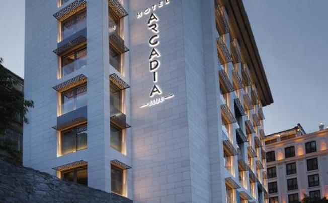 Отель Arcadia Blue Hotel Istanbul
