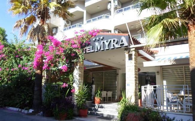 Отель Myra Hotel