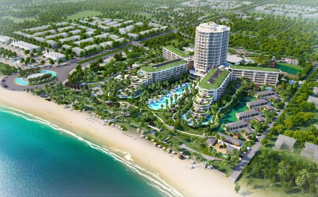 Отель Intercontinental Phu Quoc Long Beach Resort