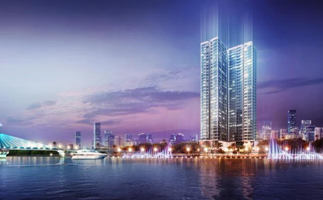 Отель Vinpearl Condotel Riverfront Da Nang (ex. Vinpearl Da Nang Riverfront Suites)