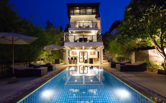 3 Bedroom Sea View Villa Bang Po
