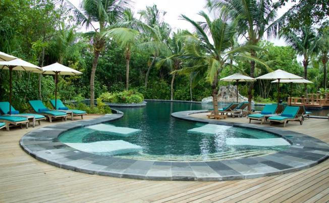 Отель Ja Manafaru (ex. The Beach House At Iruveli; Waldorf Astoria Maldives)