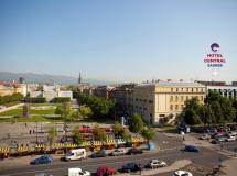 Отель Central Hotel Zagreb