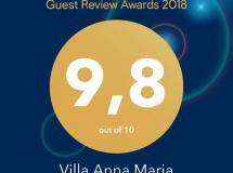 Отель Villa Anna Maria Kriopigi